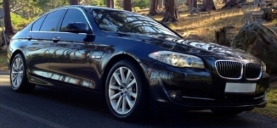 BMW 520D Car Hire Rental Tours Chauffeur Cape Town