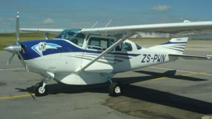 Light Planes Aircraft Tours Cape Town.