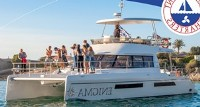 Enigma Sailing Catamaran New Years Eve Party Boat Charter Waterfront