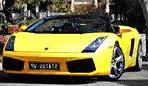 Super car exotic convertible rental hire Cape Town