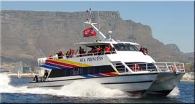 Charters, Trips and Cruises. Cape Town