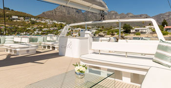 Mirage Boat Charter Functions Cape Town.