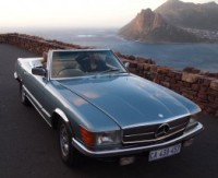 Classic Car Hire Rental Cape Town