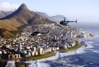 Helicopter tours and transfers V & A Waterfront Cape Town