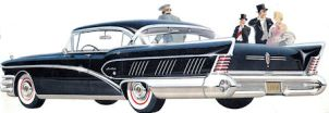 Classic Buick sedan limo hire cape